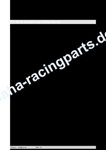 R1/ 04-06 Verkleidung 2 teilig Racing No image - Sebimoto Germany