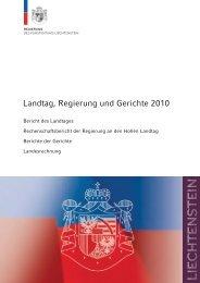 FL-Rechenschaftsbericht 2010 - LED Liechtensteinischer ...