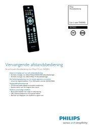 SRP5002/10 Philips Afstandsbediening