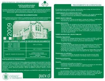 Instructivo Postulación Ayudas Estudiantiles Primer Año ... - Altavoz