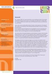 Nieuwsbrief VM2 , augustus 2009 - Aanval op schooluitval