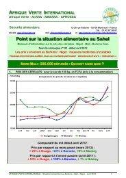 PSA n°132 - avril 2012 - Afrique Verte