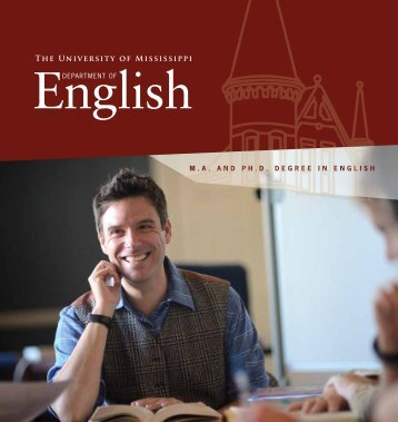 here - Department of English - University of Mississippi