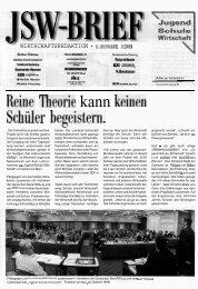 JSW-Brief 1/2000