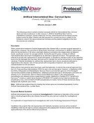 Artificial Intervertebral Disc: Cervical Spine - HealthNow New York