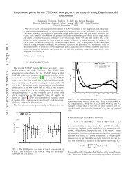 arXiv:astro-ph/0308461 v2 17 Sep 2003 - iucaa