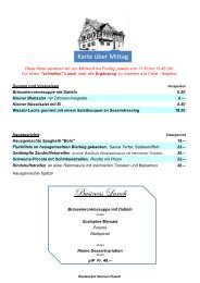 Business Lunch - Restaurant Sternen
