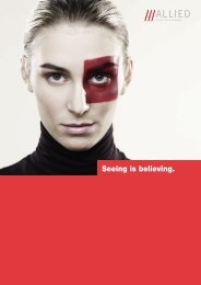 Seeing is believing. - Allied Vision Technologies