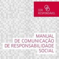 Manual de CoMuniCação de Responsabilidade soCial - apicer