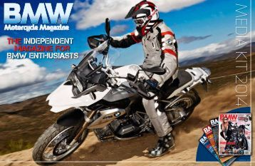 BMW Motorcycle Magazine, Media Kit 2014