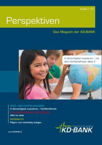 Perspektiven Ausgabe 1/2010.pdf - KD-Bank