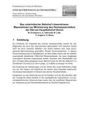 VAW 2008: Hochwasserrisiko-Minimierung DML ... - Basler & Hofmann