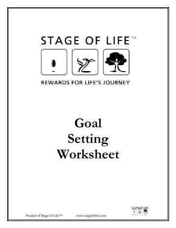 The Vision And Goals Worksheet Lululemon on smart goal setting