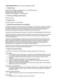 REGISTERBESKRIVNING enligt 10 § Personuppgiftslagen - S-kanava
