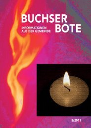 Ausgabe_5_2011 [PDF, 5.00 MB] - Gemeinde Buchs