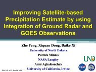 Feng - Improving Satellite-based Precipitation Estimate by using ...