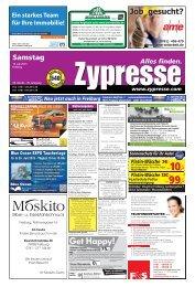 FREIBURG - Zypresse