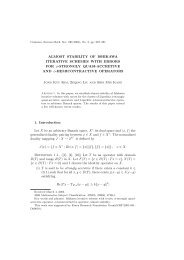 ALMOST STABILITY OF ISHIKAWA ITERATIVE SCHEMES WITH ...