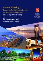 Cardio 09 Prog - Society for Cardiothoracic Surgery
