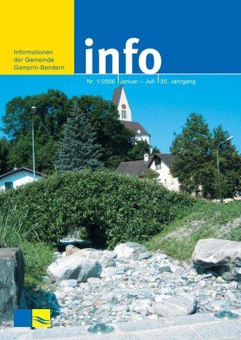 info - Gemeinde Gamprin