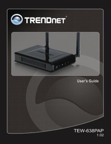 wireless basic – ap client - TRENDnet