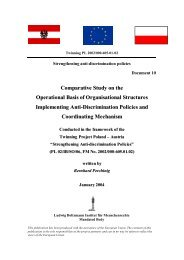 Comparative Study on the Operational Basis - Ludwig Boltzmann ...