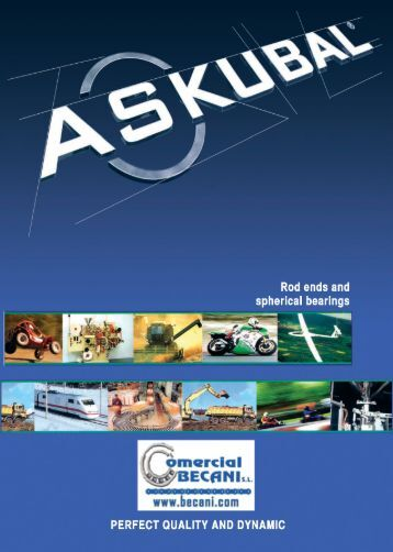 """Page 1 Page 2 —/\ fgKu BAIL"""" Rod ends and spherical bearings ..."""