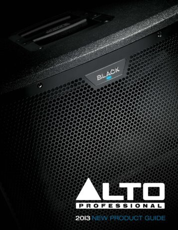 2-way active loudspeakers with live drive wireless ... - inMusic Brands