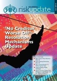 'No Creditor Worse Off': Resolution Mechanisms Update - Flora Prieto