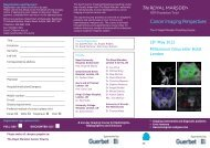 Cancer Imaging Perspectives - The Royal Marsden