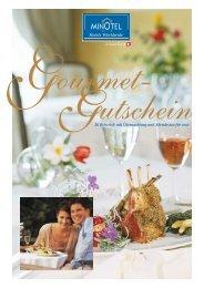 Gourmet- Gutschein - Minotel
