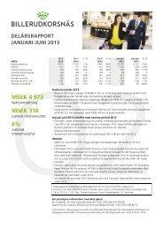 Rapport - Billerud AB