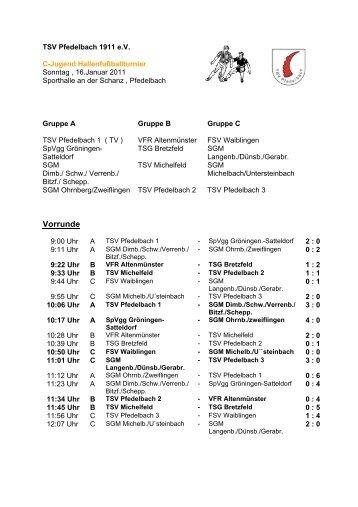 gehts zu den Ergebnissen der C-Jugend - TSV Pfedelbach