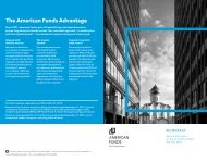 Semi-annual Report - New World Fund - American Funds
