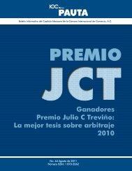 No. 64 Agosto de 2011 Número ISSN: 1 870-2062 - ICC México