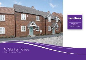 10 Stanham Close - Lee Shaw Partnership