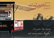 Laden Sie hier unseren Prospekt mit Fotos ... - Die Kaffee Firma