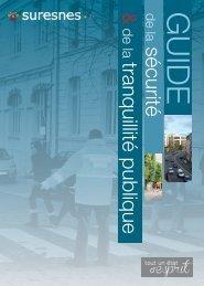Guide de la sécurité et de la tranquillité publique - Suresnes