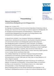 Pressemitteilung als PDF - Susanne Wetterich Kommunikation