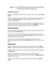 Agenda – U.S. CLIVAR Hurricane Working Group Workshop 5-‐7 ...