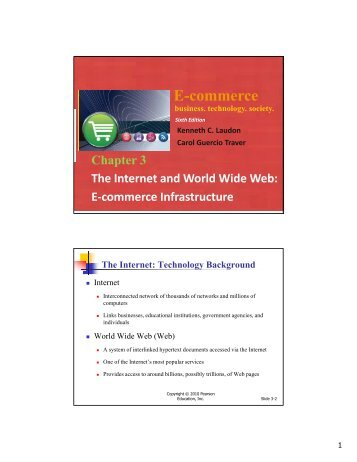E-commerce Infrastructure The Internet - Index of