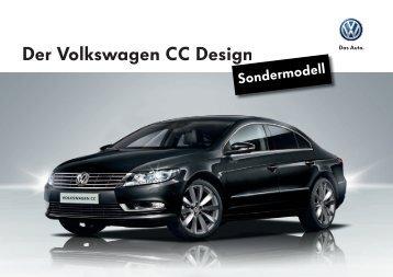 VW CC – Design Preis CHF 42'100.00 Download PDF