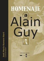 homenaje a alain guy - Les Publicacions de la Universitat de ...