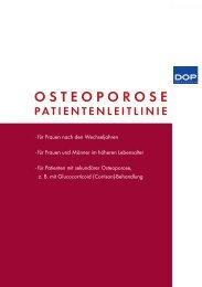 Osteoporose-DOP