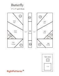 Butterfly Pattern + Tutorial PDF - Sew Mama Sew