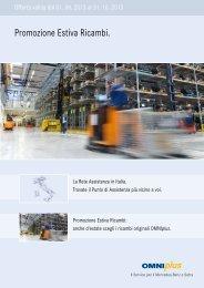 Promo Ricambi Estiva pdf-File - Omniplus