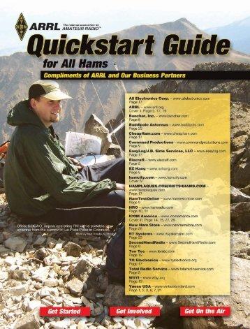 Quickstart Guide EBOOK - ARRL