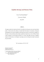 Liquidity Shortages and Monetary Policy