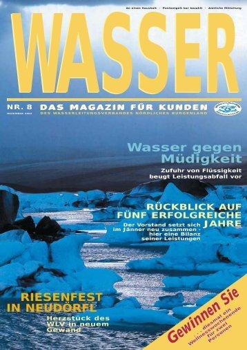 Gewinnen Sie - Wasserleitungsverband Nördliches Burgenland