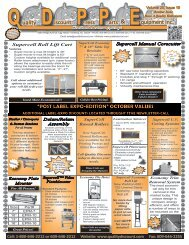 """""""post label expo-edition"""" october values - Quality Discount Press Parts"""